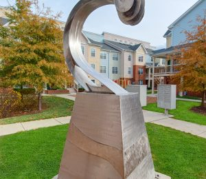 Savannah Heights sculpture